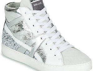 Ψηλά Sneakers Meline IN1363 ΣΤΕΛΕΧΟΣ: Δέρμα / ύφασμα & ΕΠΕΝΔΥΣΗ: Δέρμα / ύφασμα & ΕΣ. ΣΟΛΑ: Δέρμα & ΕΞ. ΣΟΛΑ: Καουτσούκ