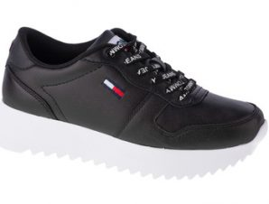 Xαμηλά Sneakers Tommy Hilfiger High Cleated Leather [COMPOSITION_COMPLETE]
